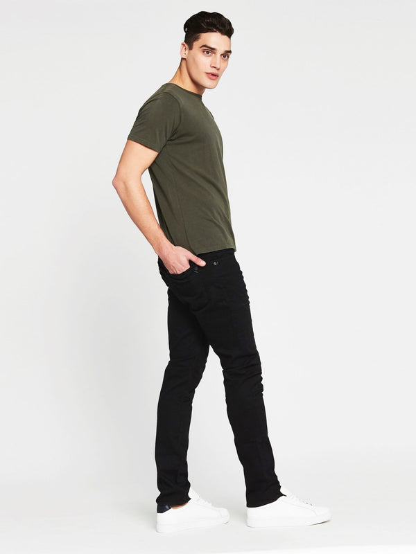 Liam Crew Neck T-Shirt in Military - Mavi Jeans
