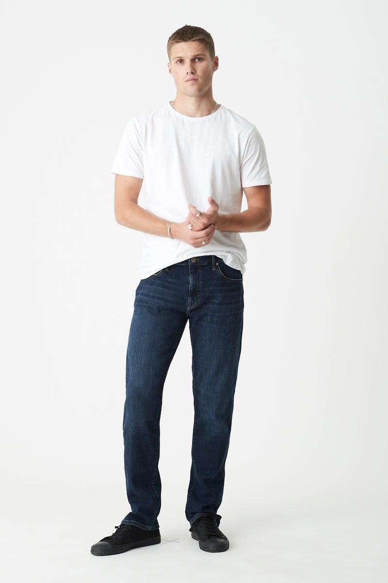 Zach Straight Jeans in Deep Portland