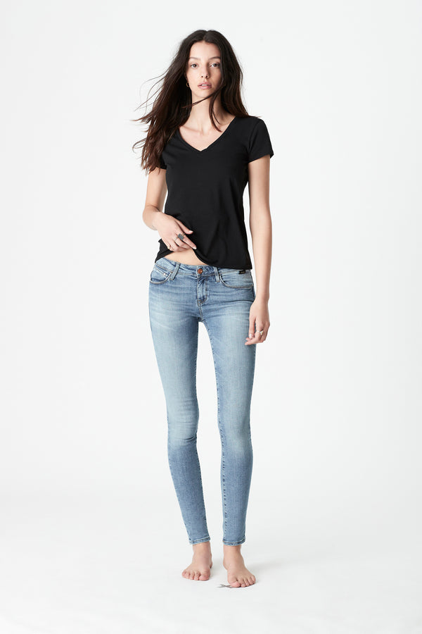 Alexa Skinny Jeans in Light Gold Reform - Mavi Jeans