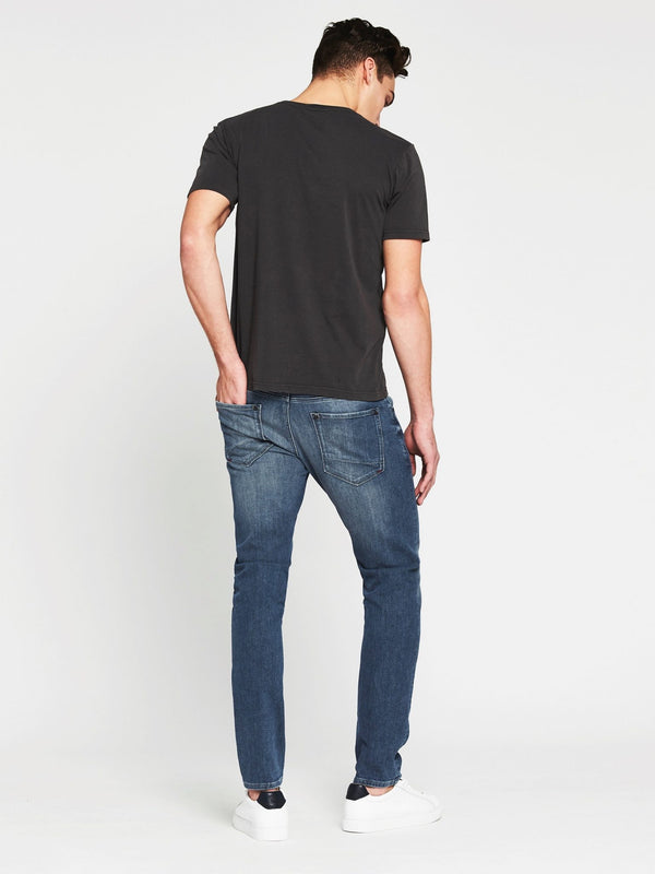Liam Short Sleeve T-Shirt Washed Black - Mavi Jeans