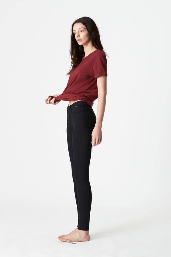 Alissa Skinny Jeans in Double Black Gold Reform - Mavi Jeans