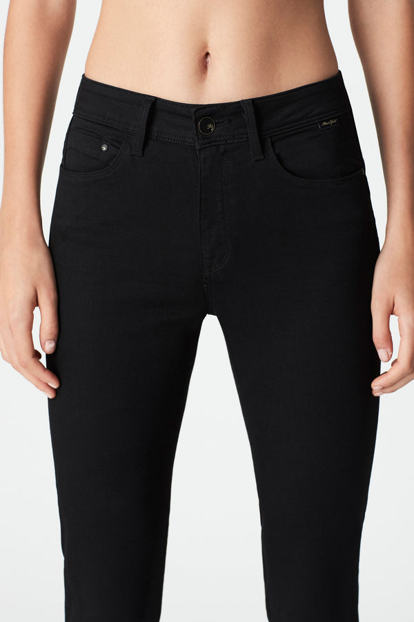Kendra Straight Jeans in Black Gold Dream - Mavi Jeans