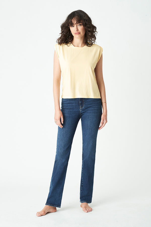 Bondi Tank in Lemon - Mavi Jeans