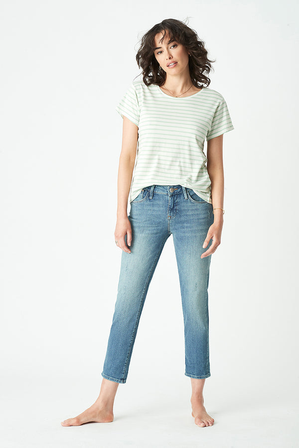 Ada Boyfriend Jeans in Light Used Rome - Mavi Jeans