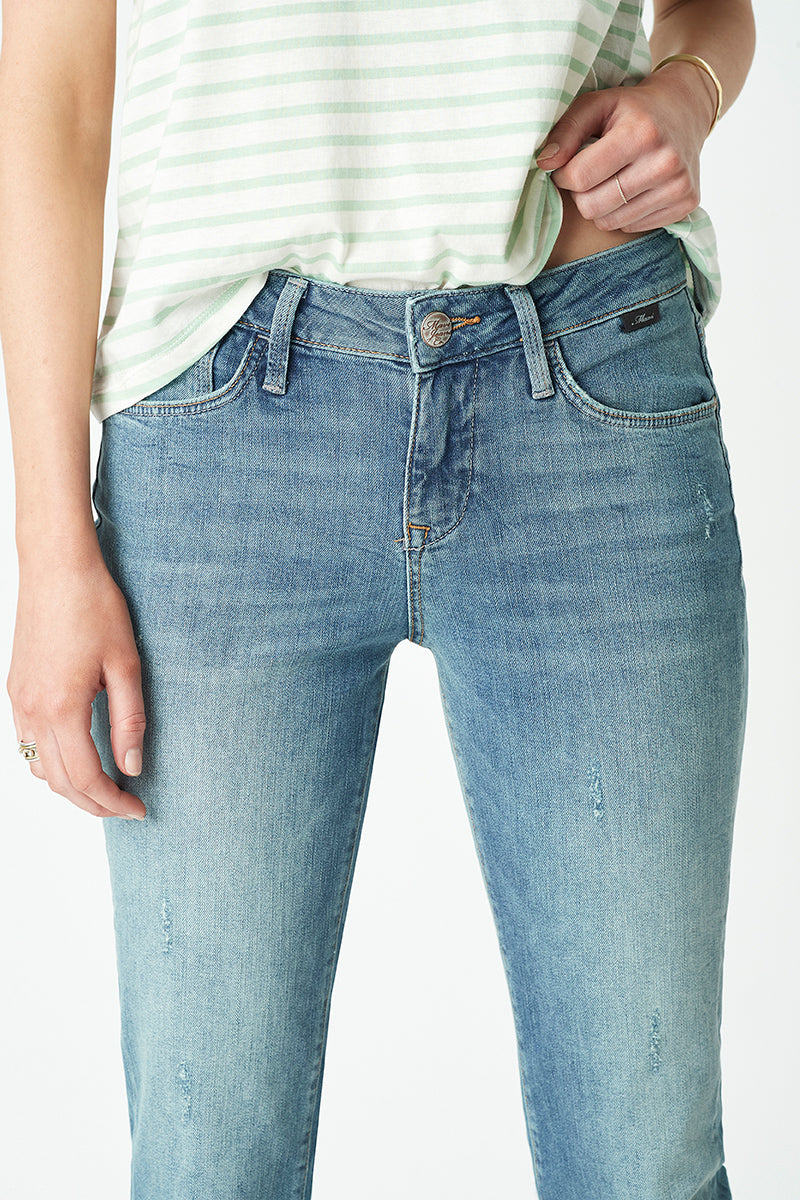 Ada Boyfriend Jeans in Light Used Rome