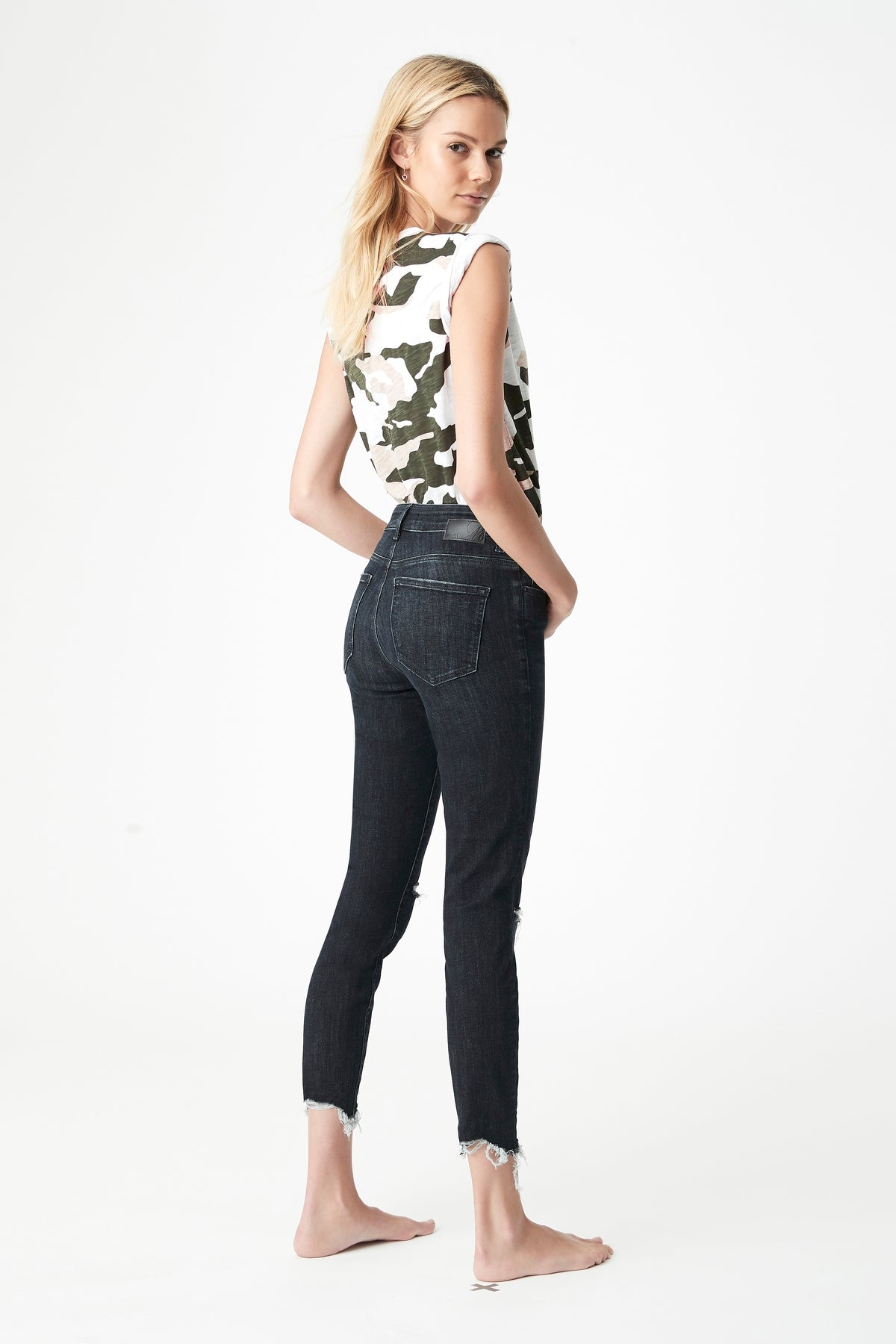 Tess Super Skinny Jeans in Smokey Deep Tribeca