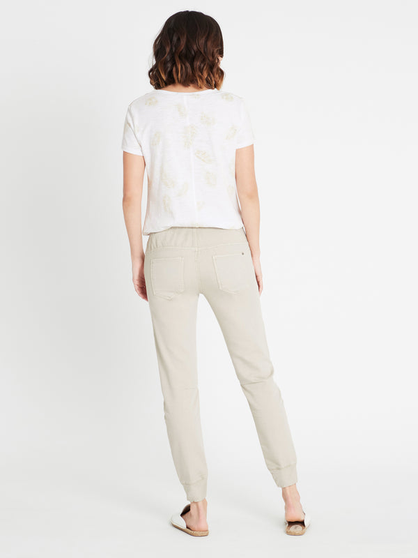 Holly Drawstring Pant in Cement Sporty - Mavi Jeans