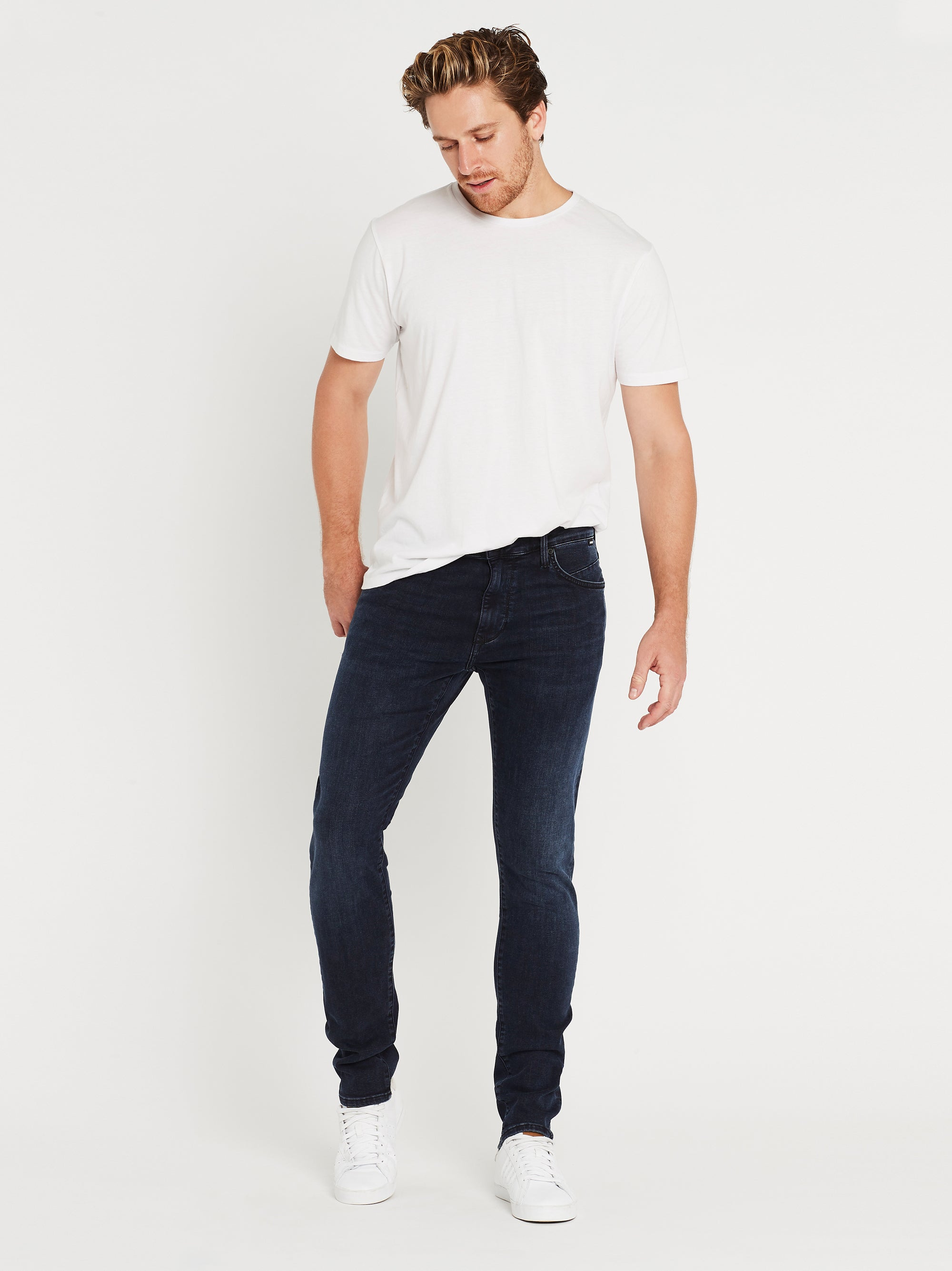 James Skinny Jeans in Deep Foggy Mavi