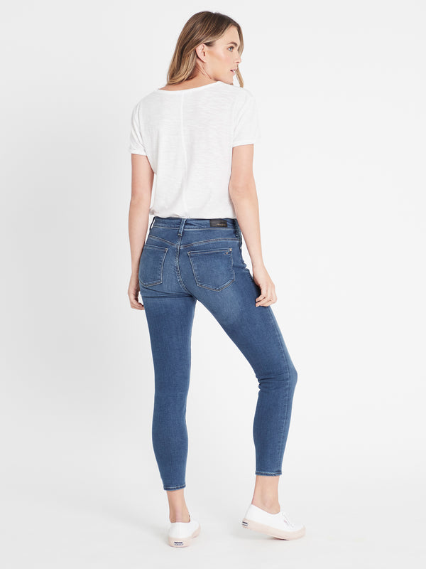 Alissa Ankle Skinny in Light Indigo Gold Lux Move - Mavi Jeans