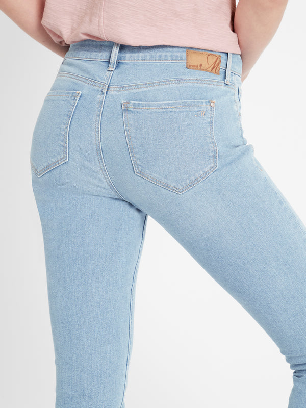 Alissa Ankle Skinny Curve Jeans in Light Blue 90's Stretch - Mavi Jeans