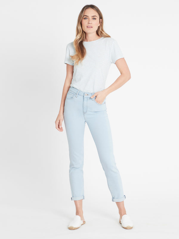 Lea Straight Jeans in Bleached 90's Comfort - Mavi Jeans