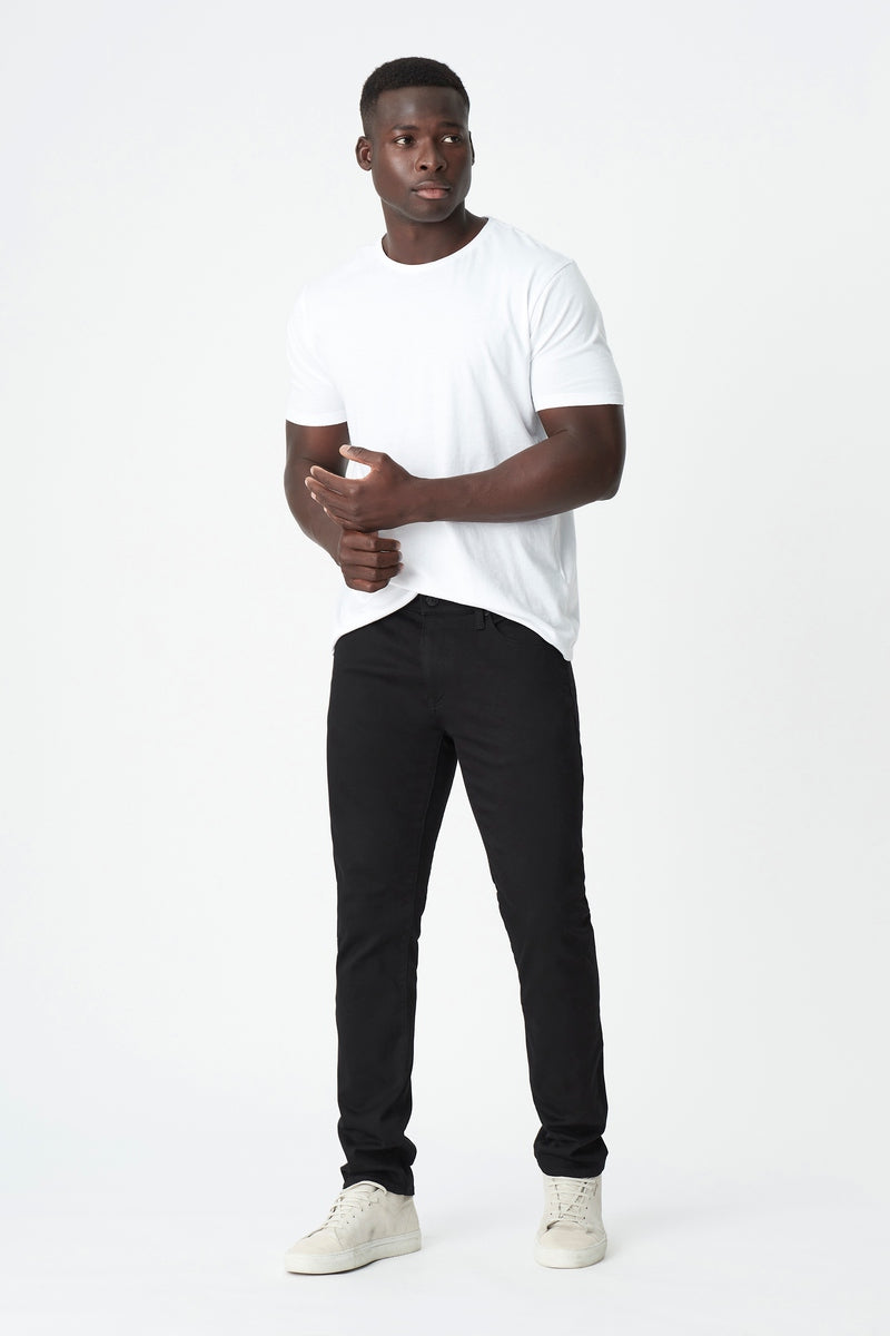 Jake Slim Skinny Jeans in Double Black Supermove