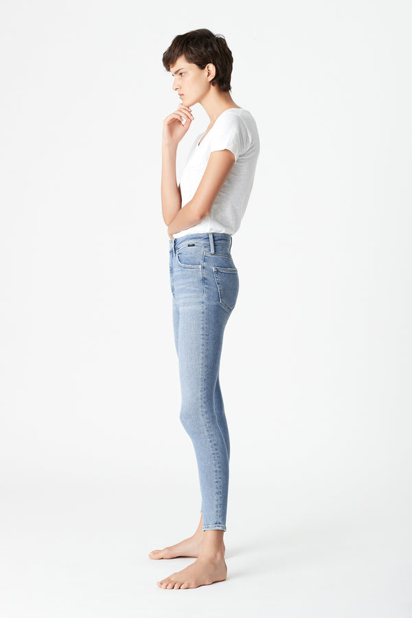 Scarlett Skinny Curve Jeans in Light Shaded LA Vintage - Mavi Jeans