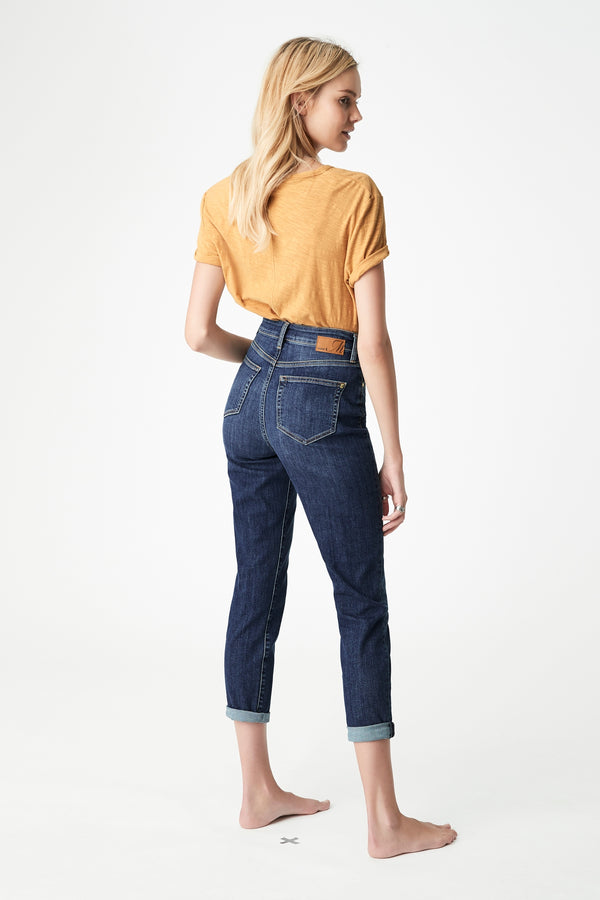 Star Mom Curve Jeans in Dark Vintage - Mavi Jeans