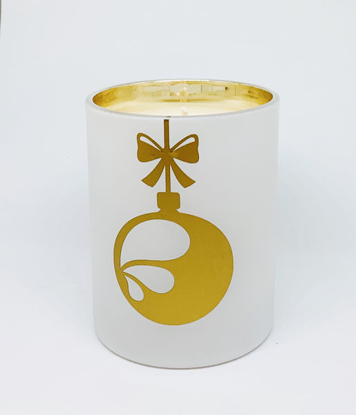 Christmas 2019: Gold Bauble Jar