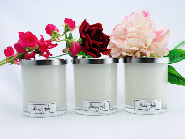 'Flower Bouquet' Medium Candle Collection