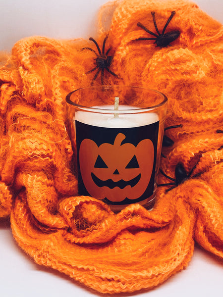 Small Halloween Candle | Pumpkin Pecan Pie