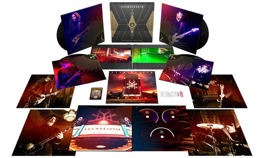 SOUNDGARDEN LIMITED-EDITION SUPER DELUXE BOX