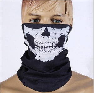 Multi function Halloween, Motorcycle Skull Musk