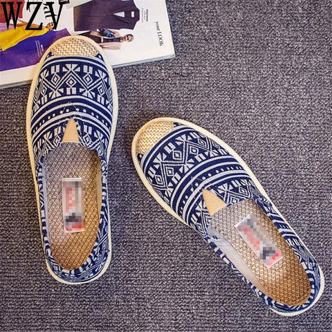 Comfy Flexible Canvas Slip-ons