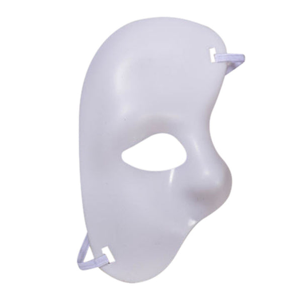 Half Face Halloween Mask