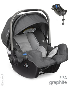 Nuna PIPA Infant Car Seat Base Graphite