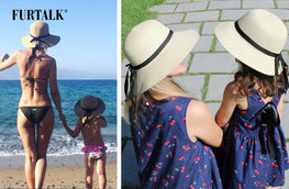 FURTALK SUN HAT--A BEST GIFT BETWEEN MOTHERS AND KIDS
