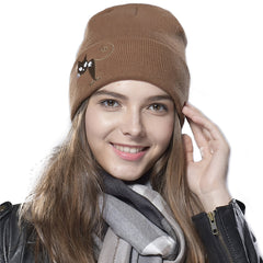 FURTALK Winter Women Fish and Cat Beanies Hat for Lovers  HTWL049