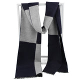 FURTALK Men Winter Cashmere Scarf Customize SFFW002