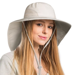 FURTALK Summer Ponytail Wide Brim Sun hat Outdoor Drop Shipping AD013