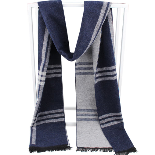 FURTALK Men Winter Cashmere Scarf Customize SFFW003