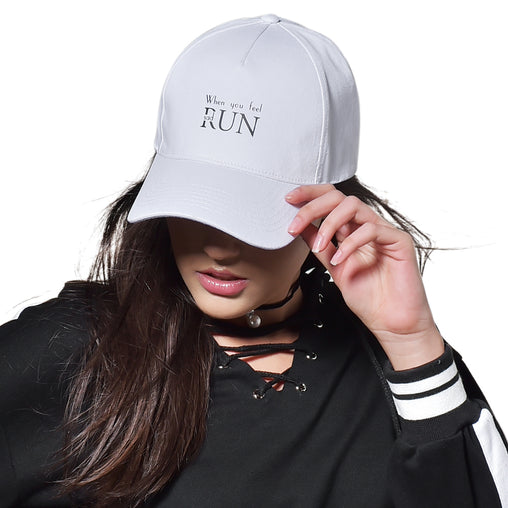 FURTALK  Women Ponytail Baseball Hat  When You Feel Sad Drop Shipping HTWL069