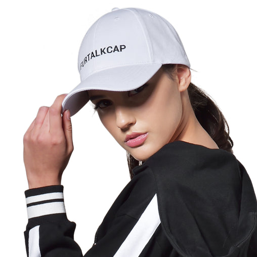 FURTALK Women Ponytail Cotton Baseball Cap with FURTALK CAP Logo Drop Shipping HTWL071