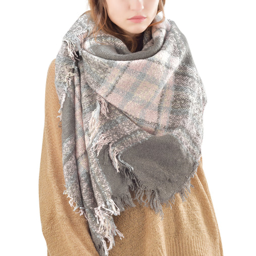 FURTALK Winter Women Cashmere Hand Feeling Scarf  Dropping Shipping SFWL021