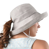 FURTALK Women Ponytail Beach Bucket Sun Hats  Drop Shipping SH045