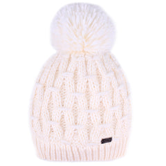 FURTALK Womens Winter Yarn Pom Pom Hat Scarf Set  Drop Shipping HTWL091