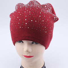 FURTALK Women  Winter Slouchy Beanie Hat with Sequin Drop Shipping B003