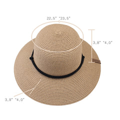 FURTALK Women Summer Paper Straw Sun Hat Wild Brim Drop Shipping  SH041