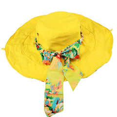FURTALK Women Wide Brim Beach Sun Hats Floral Reversible  Drop Shipping SH010