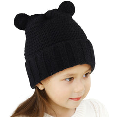 FURTALK Winter Kids Bear Ear Beanie Hats  Drop Shipping HTWL083
