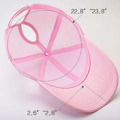 FURTALK Women Ponytail Baseball Cap Double Opeaning Drop Shipping HTPU006