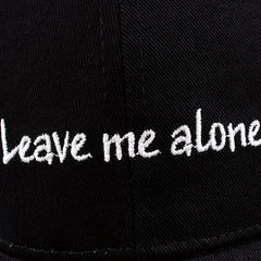 FURTALK Women Messy Bun Dad Hat Leave Me Alone Drop Shipping HTWL068