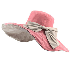 FURTALK Women Summer Wide Brim Beach Hats Reversible Drop Shipping SH014