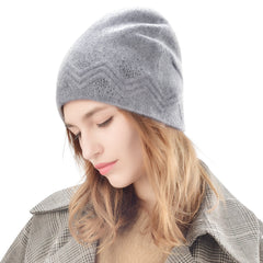 FURTALK Women Winter Beanies Hat Wave Sequin  Drop Shipping B008