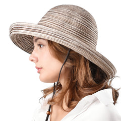 FURTALK Women Summer Straw Beach Sun Hat Drop Shipping SH051
