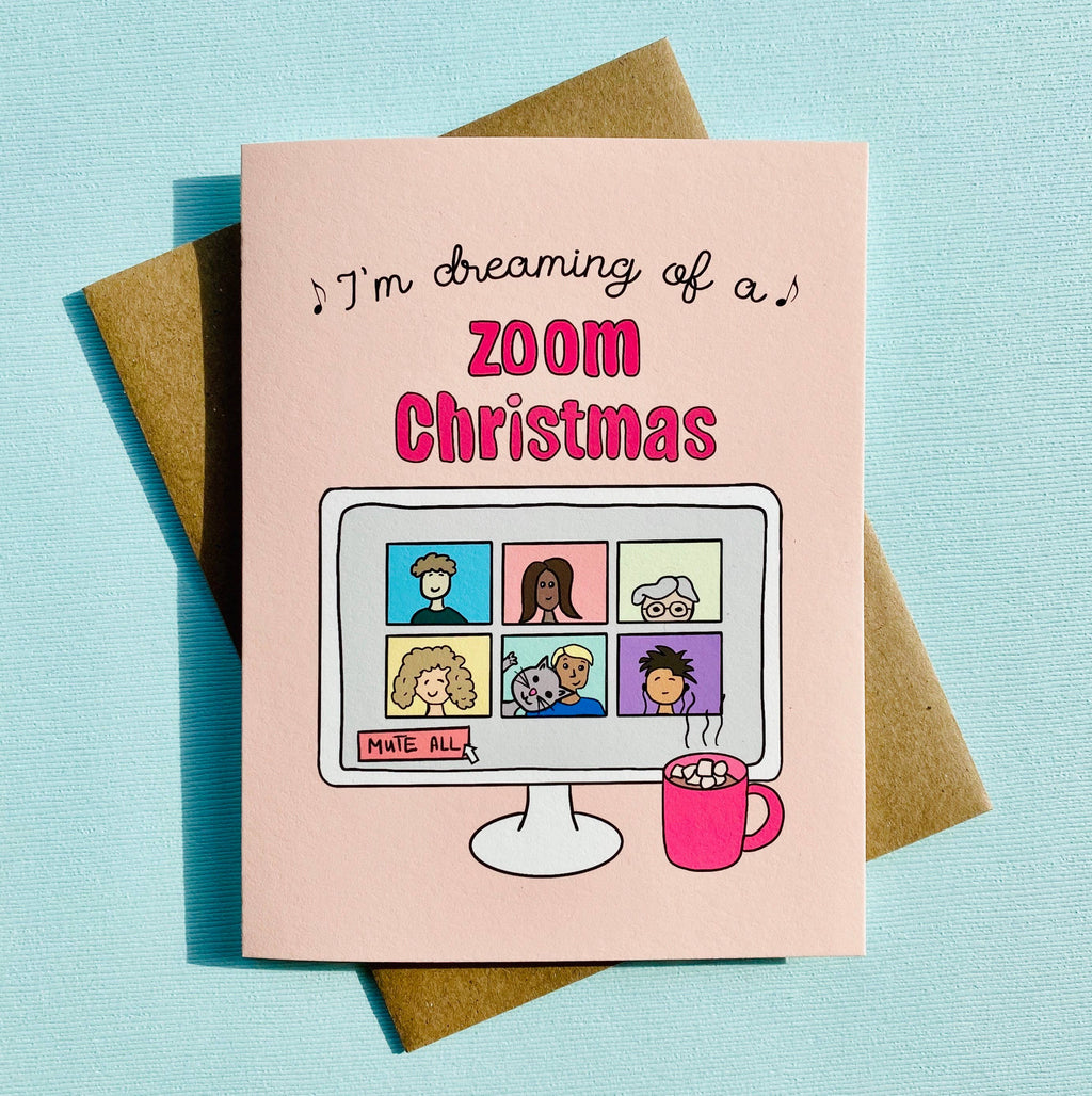 Zoom Christmas Card