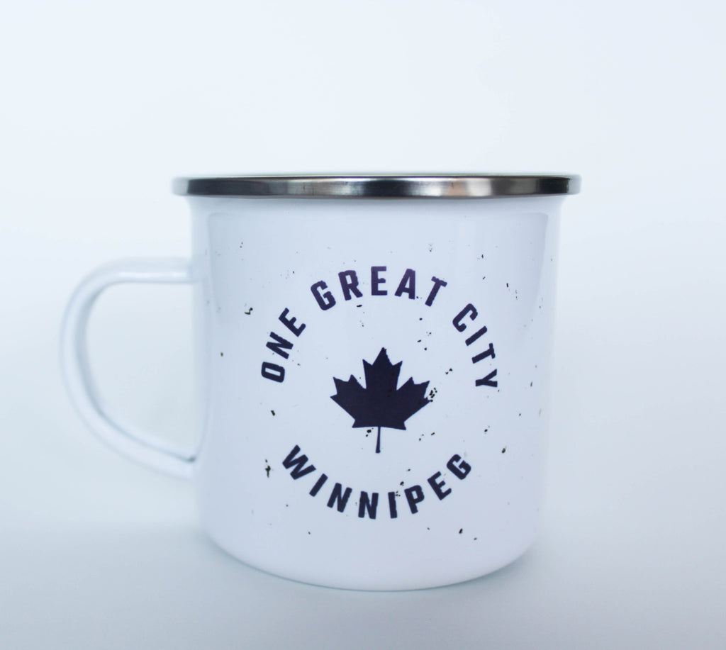 One Great City Tin Mug