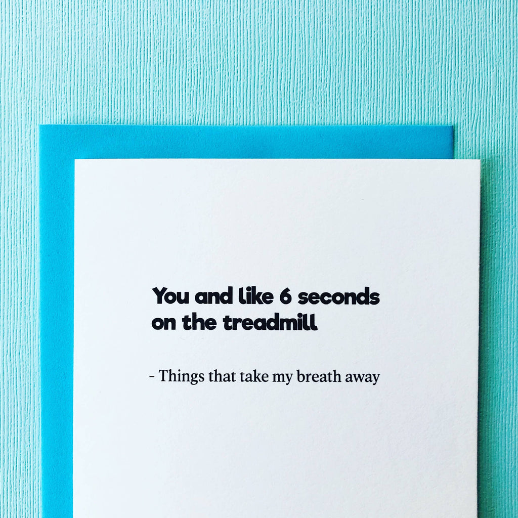 Things That Take My Breath Away Card