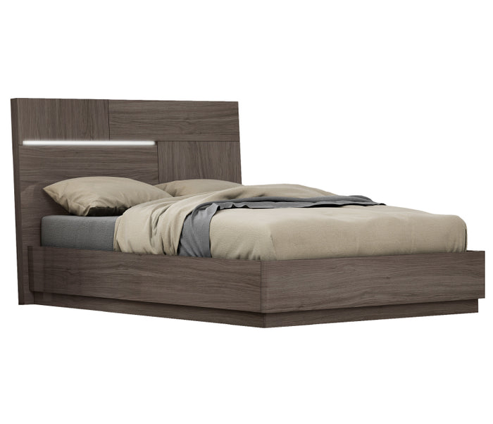 Aria Bed w/ LED Lights & Lift Storage