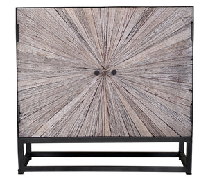 "Astral Plains 32"" Accent Cabinet - Grey"